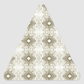 Meditation Pattern Themed Merchandise Triangle Sticker