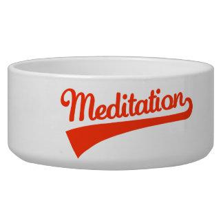 Meditation Dog Water Bowls