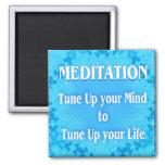 Meditation Refrigerator Magnet