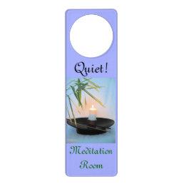 Meditation Reiki Do Not disturb Door Hanger