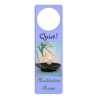 Meditation Reiki Do Not disturb Door Hanger