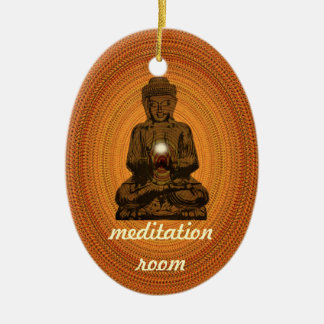 meditation room ceramic ornament