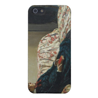 Meditation, Sitting on a Sofa (1870-1871) iPhone SE/5/5s Cover