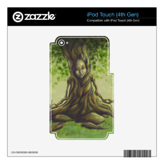 Meditation iPod Touch 4G Skins
