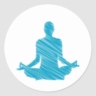 Meditation Stickers