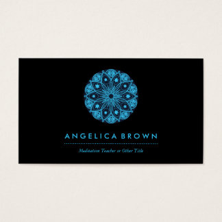 Meditation Teacher Health & Wellness Business Card