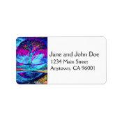 Meditation Tree of Life in Purple Label (<em>$3.15</em>)