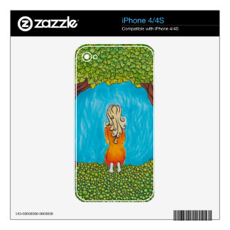 Meditation Under Tree Decal For The iPhone 4S