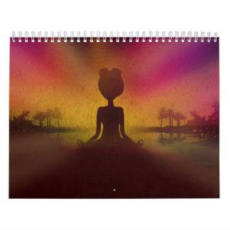 Meditation Yoga Calendar