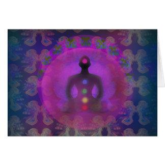 Meditation Yoga Card