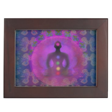 Meditation Yoga Keepsake Box
