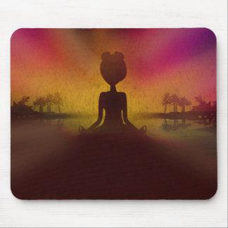 Meditation Yoga Mouse pad