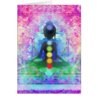 Meditation Yoga Note Card