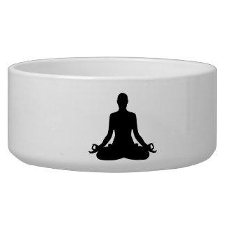 Meditation Yoga Dog Bowl