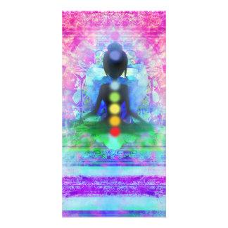 Meditation Yoga Photocard Card