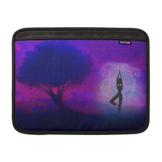 Meditation Yoga Rickshaw Sleeve MacBook Sleeves