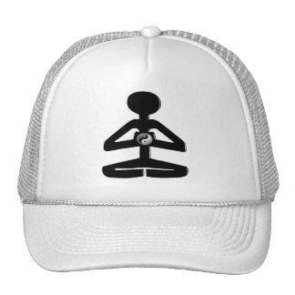 MEDITATION YOGA YIN YANG TRUCKER HAT