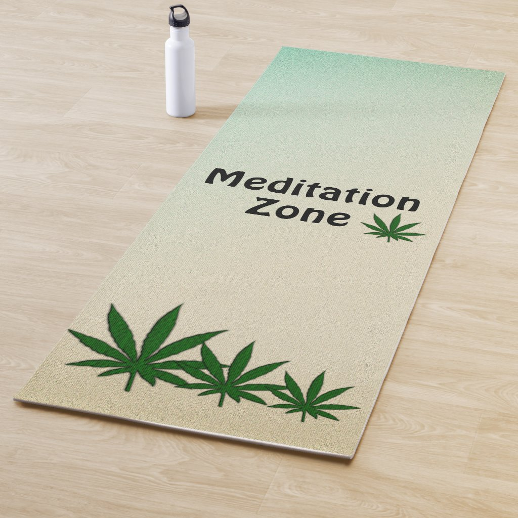 Meditation Zone Yoga Mat