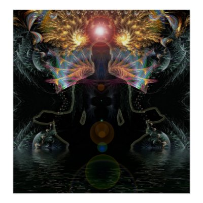 Meditational Visions Poster zazzle_print