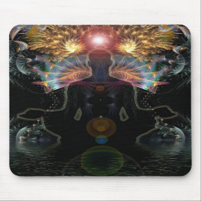 Meditational Visionsr Mousepad mousepad