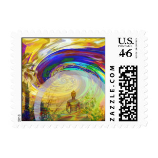 Meditations & Colors_ Postage Stamps