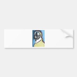 Meditative Avian Bumper Sticker