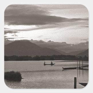 Meditative evening tendency - Asia