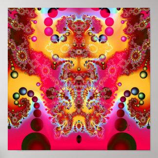 "Meditative Levitation V2  (12"" x 12"") Art Print"