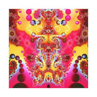 Meditative Levitation V 2  Wrapped Canvas Print