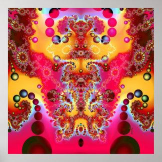 Meditative Levitation Variation 2 Art Print Poster