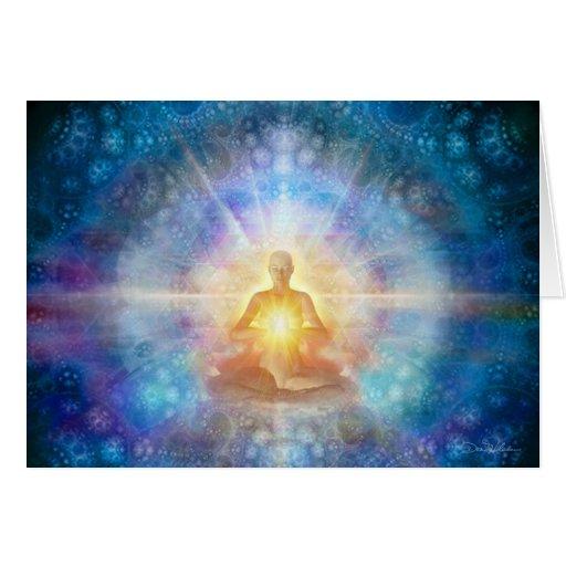 Meditator 2 2012 greeting card
