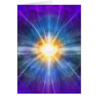 Meditator 9 de la yoga tarjeta de felicitación
