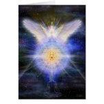 Meditator Yantra Angel Greeting Card