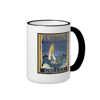 Mediterrane Greece see matching mugs