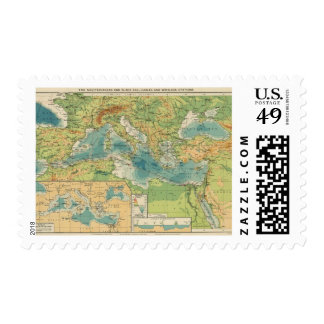 Mediterranean, Black Sea cables, wireless stations Postage