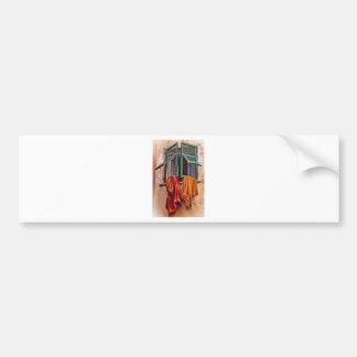 Mediterranean Blankets Bumper Sticker