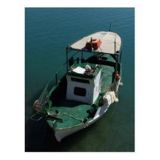 Mediterranean Boat Postcard