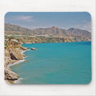 Mediterranean Coast of Spain Mouse Pad