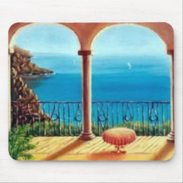 cloudsendgallery Mediterranean Collection Mouse Mat 1