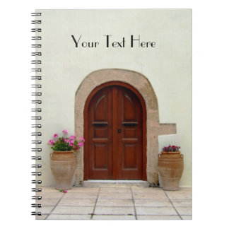 Mediterranean Door Notebook
