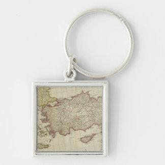 Mediterranean East Keychains