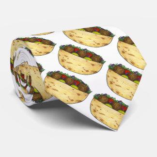 Mediterranean Food Falafel Pita Sandwich Tie