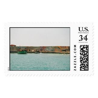 Mediterranean Harbor Stamp