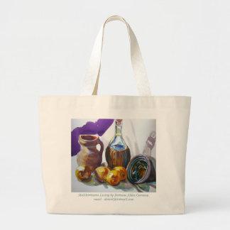 Mediterranean Living by Doranne Alden Caruana Large Tote Bag