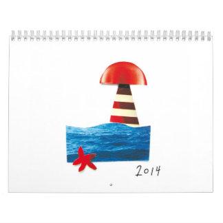 Mediterranean lovers, grab it! calendar