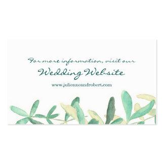Mediterranean | Modern Foliage Website Card