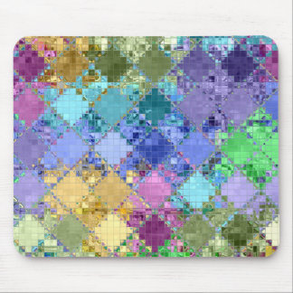 mediterranean Mosaic Tiles Mouse Pad