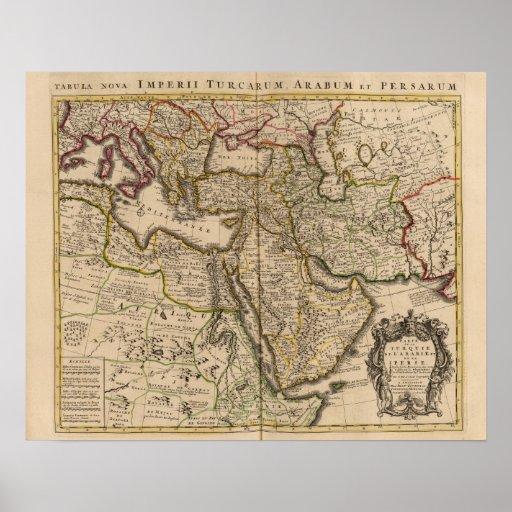Mediterranean Region Print