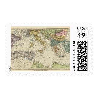 Mediterranean Sea 3 Postage Stamp