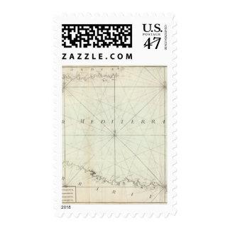 Mediterranean Sea 4 Stamp